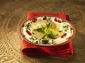 Mutabbal (Aubergine puree, Lebanon)