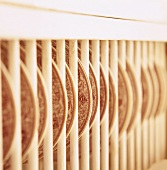 Plates in a rack