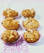 Pains de la Mecque (Choux pastries with pearl sugar)