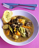 Lamb stew with pumpkin and sweetcorn (Chile)
