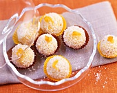 Apricot and almond sweets