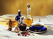 Black cumin: tea, oil, capsules and seeds