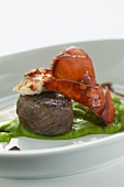 Surf and turf (Lobster with beef fillet, USA)