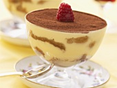 Tiramisu (Layered dessert made with mascarpone & sponge, Italy)