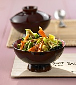 Spicy stir-fried vegetables