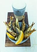 Deep-fried sardines (tapas)