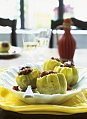 Stuffed peppers (with mince and chorizo stuffing)