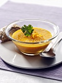 Curried carrot soup with orange