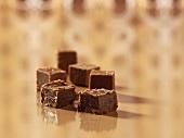 Chocolate and liquorice fudge