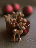 Chocolate deer (Filled chocolate biscuits)