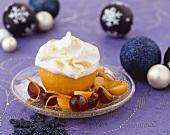 Orange soufflé (Christmas)