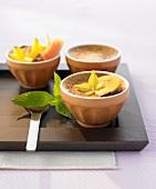 Thai coconut cream with cardamom