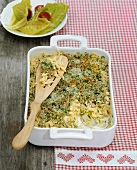 Baked herb spaetzle (from the Allgäu)