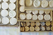 Various French goat's cheeses