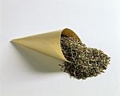 Dried wild thyme (Thymus serpyllum)