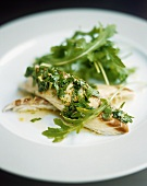 Branzino con la gremolata (Sea bass with gremolata)
