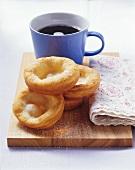 Auszogene (Bavarian doughnuts)