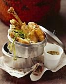 Thrice-cooked chicken