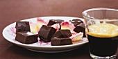 Chocolate and coffee fudge