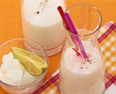 Ginger and coconut lassi