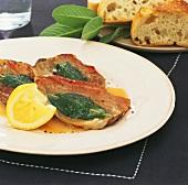 Saltimbocca d'agnello (Schnitzel mit Schinken & Salbei)