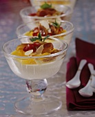 Middle Eastern almond cream