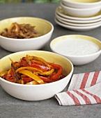 Sautéed peppers