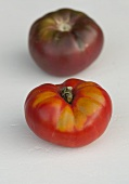 Two different tomatoes