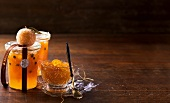 Mandarin and kumquat marmalade for Christmas