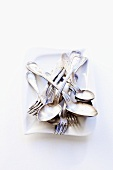 Silver cutlery (forks, spoons)