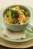 Vegetable noodle soup (Asia)