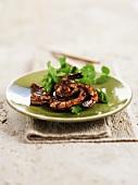 Shrimps with a tamarind sauce (Malaysia)