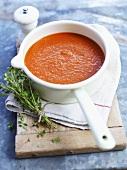 Provencal cream of tomato soup