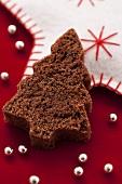A chocolate Christmas tree