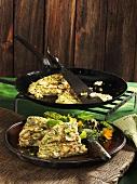 Jerusalem artichoke tortilla