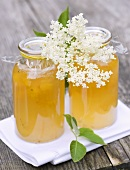 Lemon and elderflower jelly