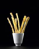 Curry bread sticks