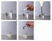 An Algizoon base mixture being made (molecular gastronomy)