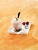 Black Forest cherry dessert