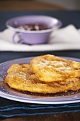 Langos (deep-fried flatbread)
