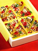Candied fruit corners