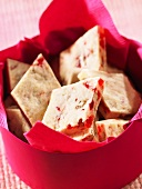 Cherry and pecan shortbread