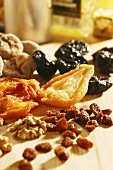 Dried fruits and walnuts