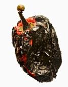 A burnt pepper