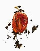 A peeled pepper