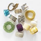Various napkin rings