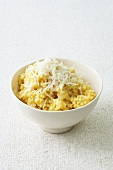 A bowl of millet risotto