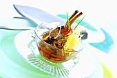 Lammkarree, geschmort in Curry, mit Knusperkartoffeln