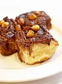 Hazelnut cinnamon buns