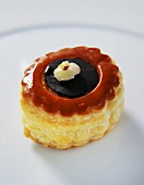 Vol-au-vent filled with tapenade